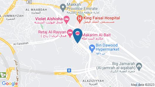 Aayan Al Shisha Hotel Map