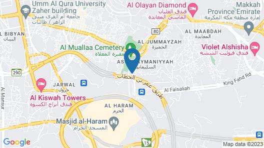 Grand Makkah Hotel Map