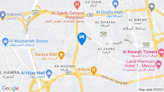 OYO 168 Manazl Al Steen Housing Units Map