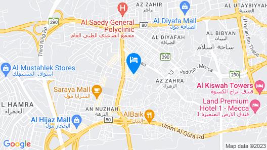 OYO 167 Dar Al Raies Hotel Map