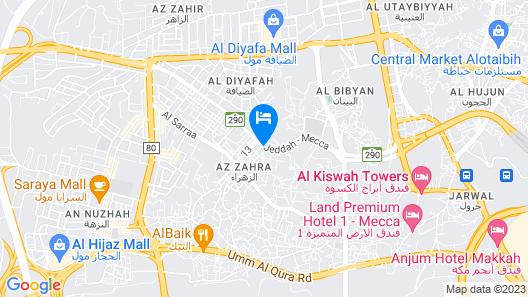 Al Azhar Nuzhah Hotel Map