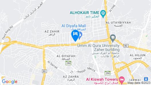 Rabwat Al Safwa Map