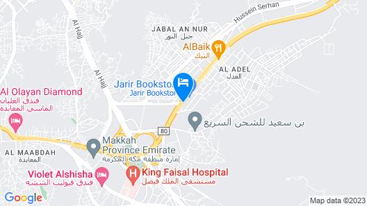 Reef Global Hotel Map