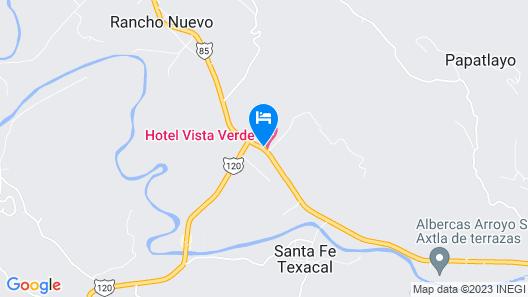HOTEL VISTA VERDE Map