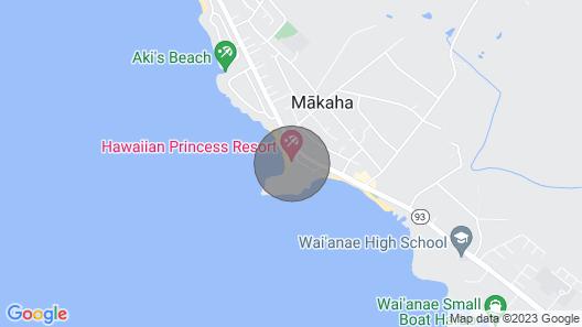 Hawaiian Princess 206 Map