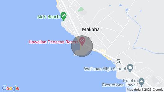 One bedroom oceanfront property 90/TVU-0094 Map