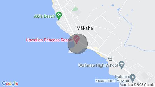 WaikikiLux at the Beach Map