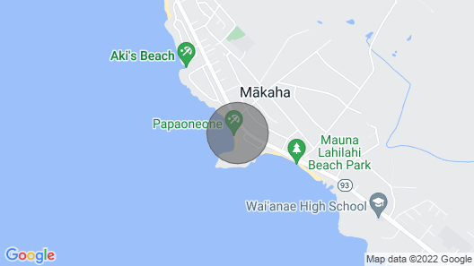 Amazing Ocean Front Condo!! Map