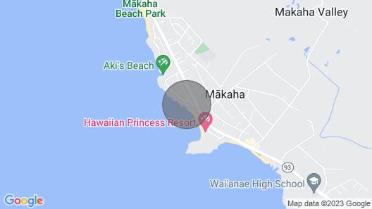 Beachfront Dream Vacation Home Map