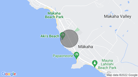 Mango House is Near Aki's Beach Where Sea Turtles Sunbathe on the Beach Map