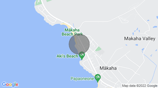 Brand NEW Makaha Beach House! Map