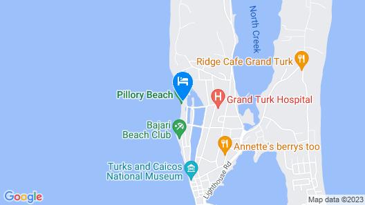 Bohio Dive Resort Map
