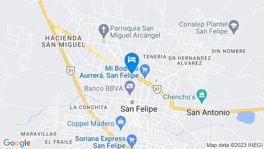 Luxury Rancho la Loma Map