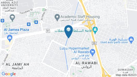 Qanadil Al Raha Hotel Apartments (Families Only) Map