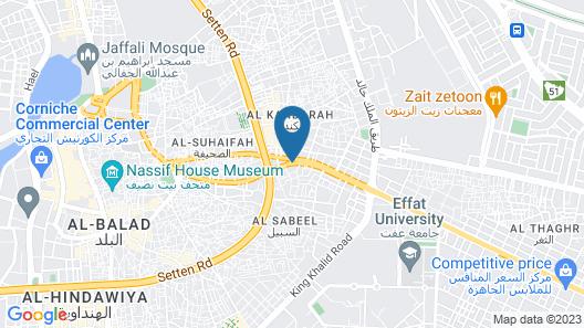 Norkom Jeddah for Furnished Apartment Map