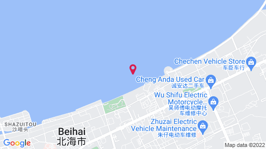 Shangri La Hotel Beihai Map