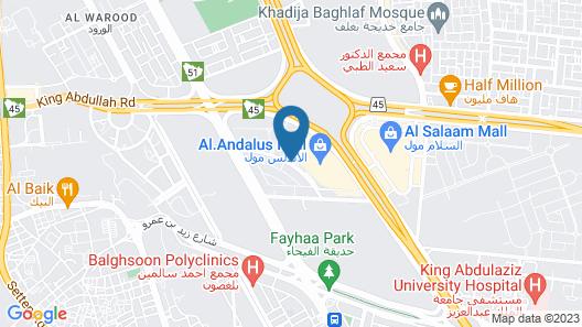 Staybridge Suites Jeddah Alandalus Mall Map