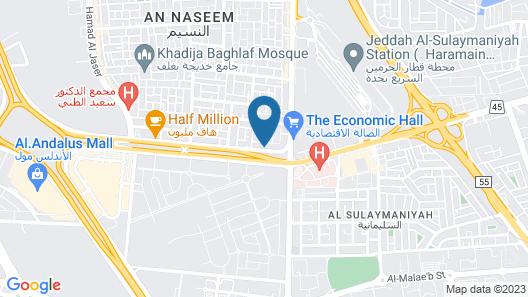 Warwick Hotel Jeddah Map