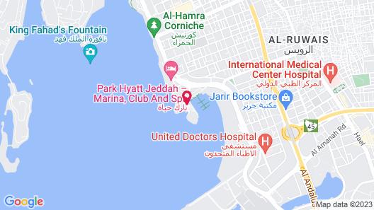 Park Hyatt Jeddah - Marina, Club and Spa Map