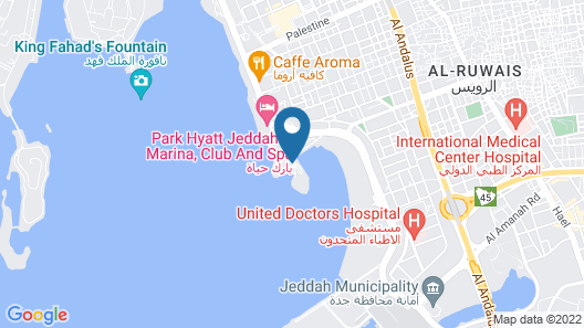 Park Hyatt Jeddah - Marina, Club and Spa Map