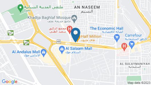 Radisson Blu Hotel, Jeddah Plaza Map