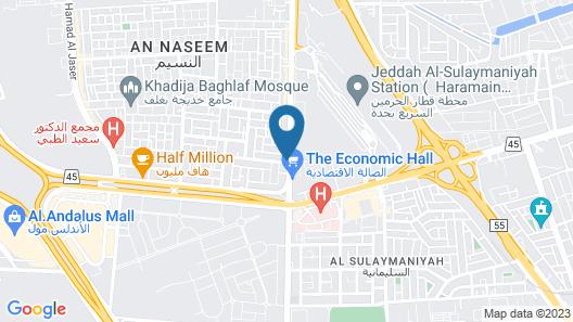 Rancy Jeddah Aparthotel Map