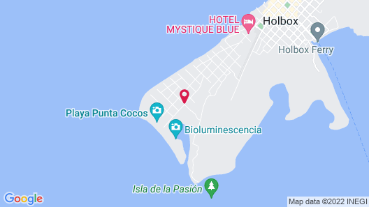 Casa HX - Adults only - Optional all-inclusive Map