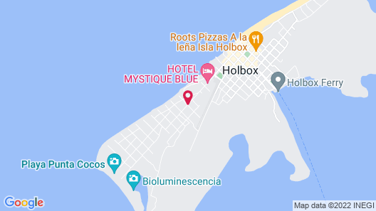 Mystique Holbox by Royalton Map