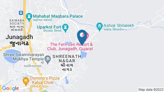 The Fern Leo Resort & Club Junagadh Map
