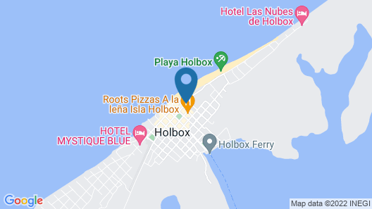 Trece Cielos Guest Rooms Map