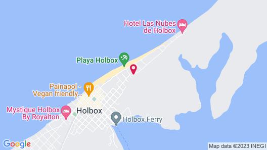 Villas HM Palapas del Mar Map
