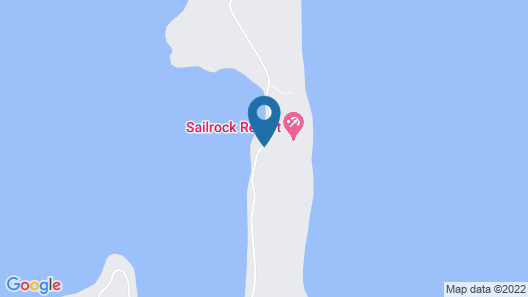Sailrock Resort- Island Hop Flight Included Map