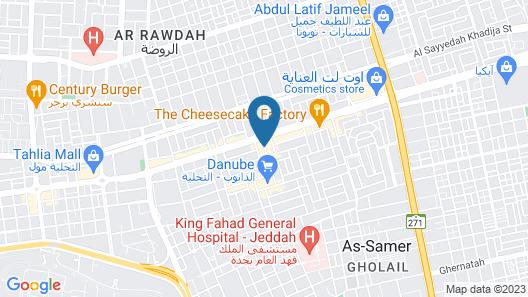 Assila Residences Jeddah Map