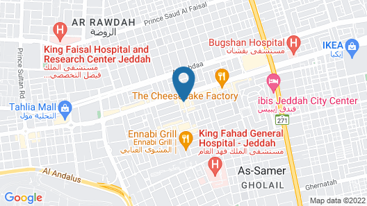 Assila, a Luxury Collection Hotel, Jeddah Map