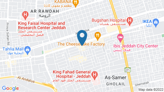 The Hotel Galleria By Elaf Map