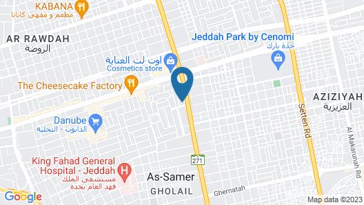 ibis Jeddah City Center Map