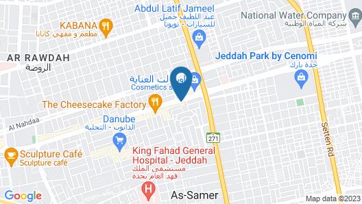 Ascott Tahlia Jeddah Map