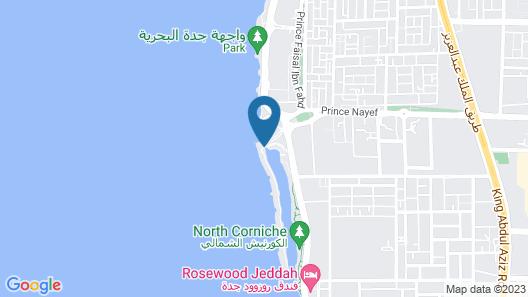 Movenpick Resort Al Nawras Jeddah Map