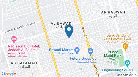 Jazli Hotel Suites Map