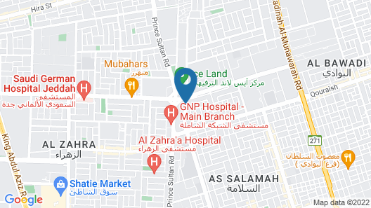 Citadines Al Salamah Jeddah Map
