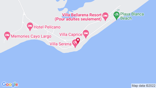 Villa Iguana Map