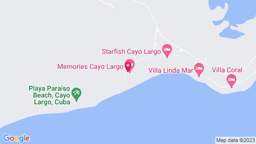 Sol Club Cayo Largo Map