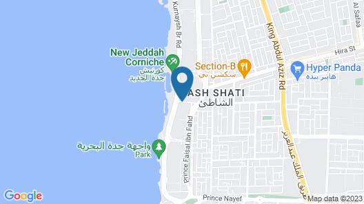 The Venue Jeddah Corniche Map