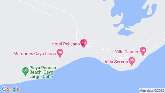 Sol Club Pelícano Map