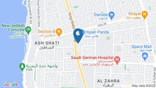 Adagio Aparthotel Jeddah Malik Road  Map
