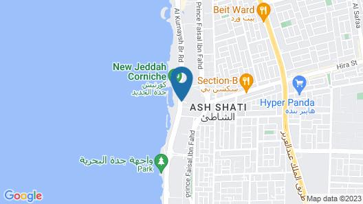 Waldorf Astoria Jeddah - Qasr Al Sharq Map