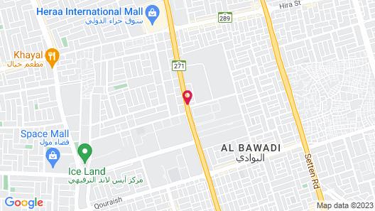 Movenpick Hotel City Star Jeddah Map