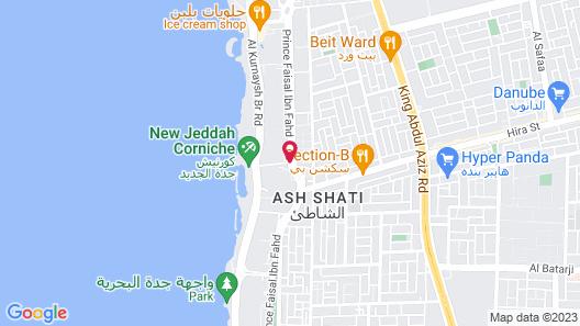 Jeddah Hilton Map