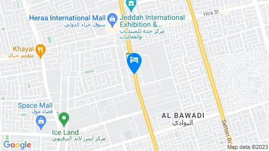 Habitat Hotel All Suites - Jeddah Map