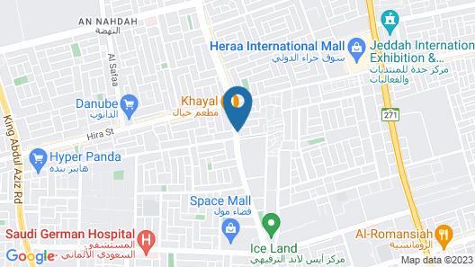 Spectrums Residence Jeddah Map